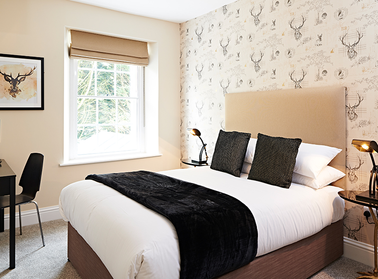 Double Room at the Frampton Arms Pub with Rooms, Moreton Dorchester